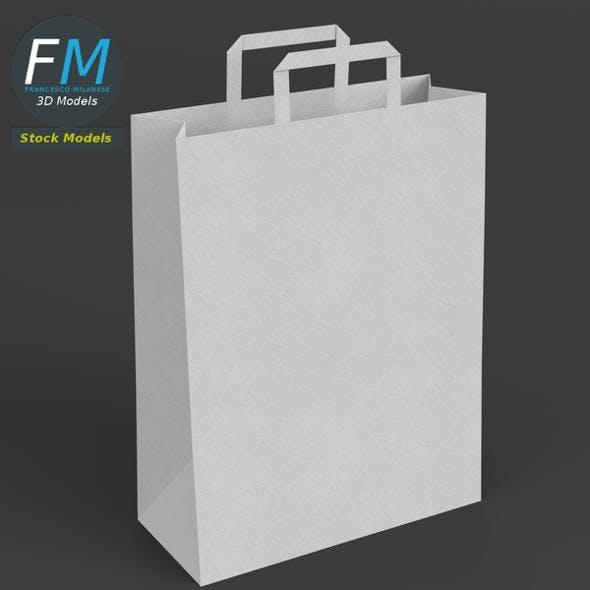 Big paper bag - 3DOcean Item for Sale