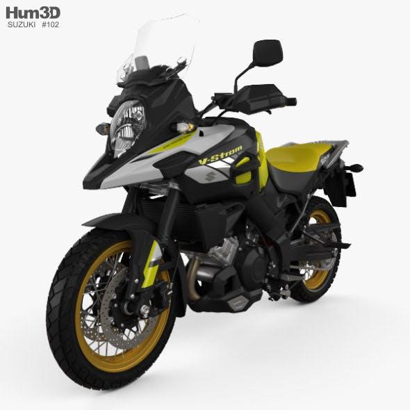 Suzuki V-Strom 1000 2018 - 3DOcean Item for Sale