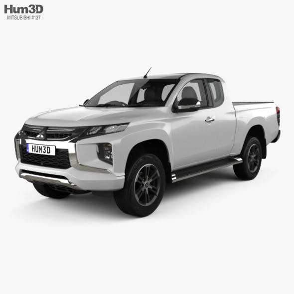 Mitsubishi Triton Club Cab 2019 - 3DOcean Item for Sale