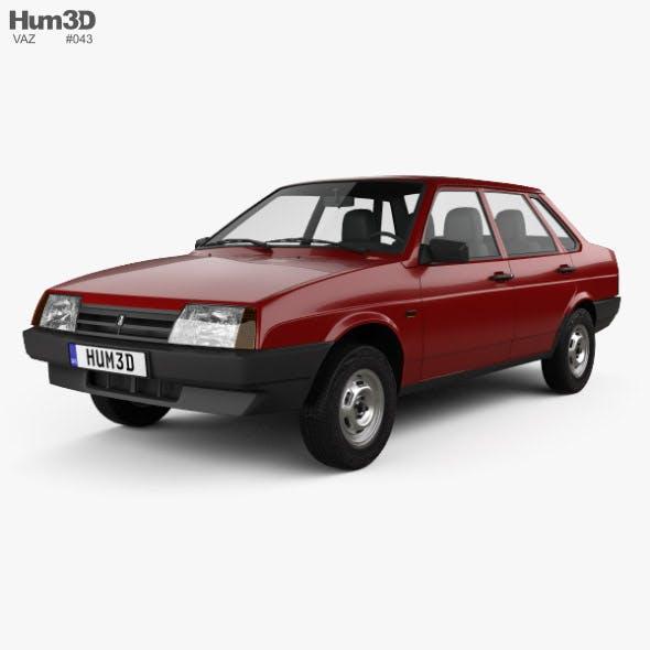 VAZ Lada 21099 1990 - 3DOcean Item for Sale