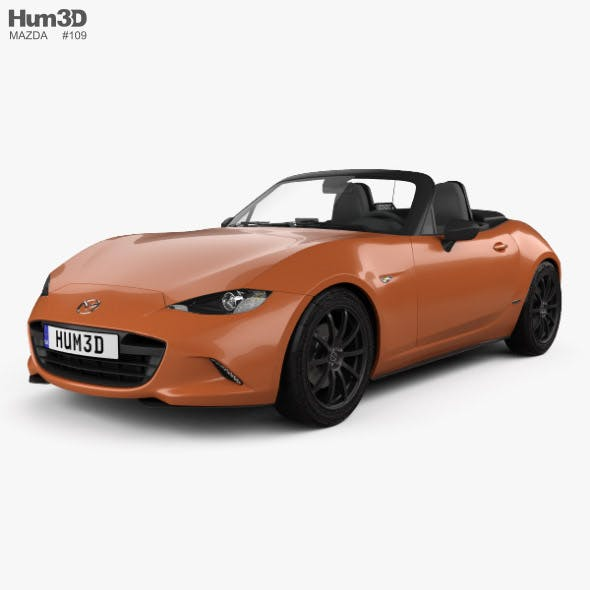 Mazda MX-5 30th Anniversary convertible 2019 - 3DOcean Item for Sale
