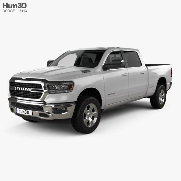 Dodge Ram 1500 Quad Cab Big Horn 6-foot 4-inch Box 2019 - 3DOcean Item for Sale
