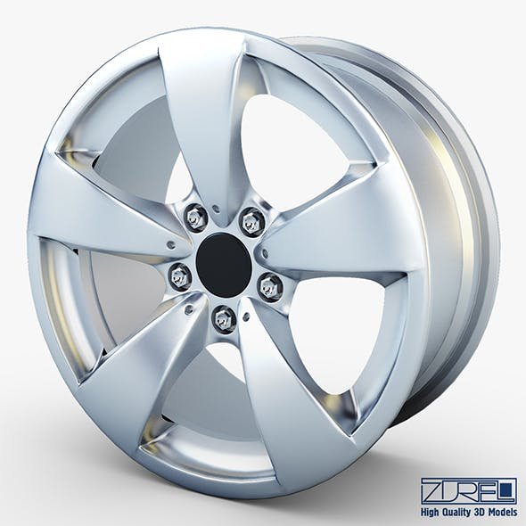 Style 138 wheel silver Mid Poly