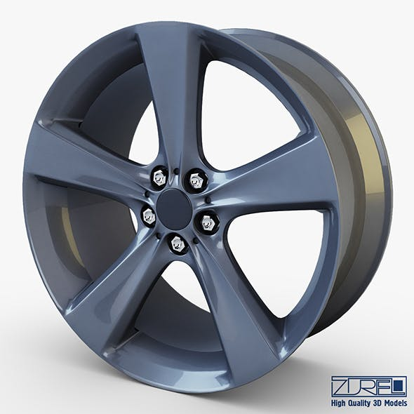 Style 128 wheel ferric gray Mid Poly
