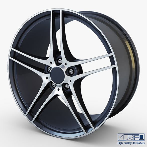 Style 313 wheel ferric gray Mid Poly