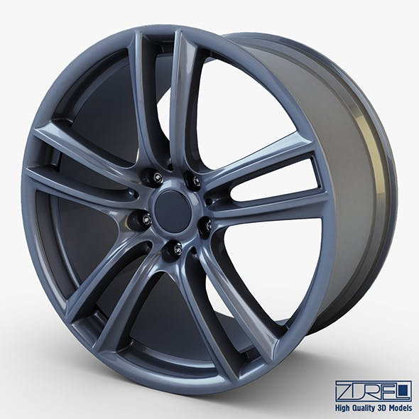 Style 303 wheel ferric gray Mid Poly - 3DOcean Item for Sale