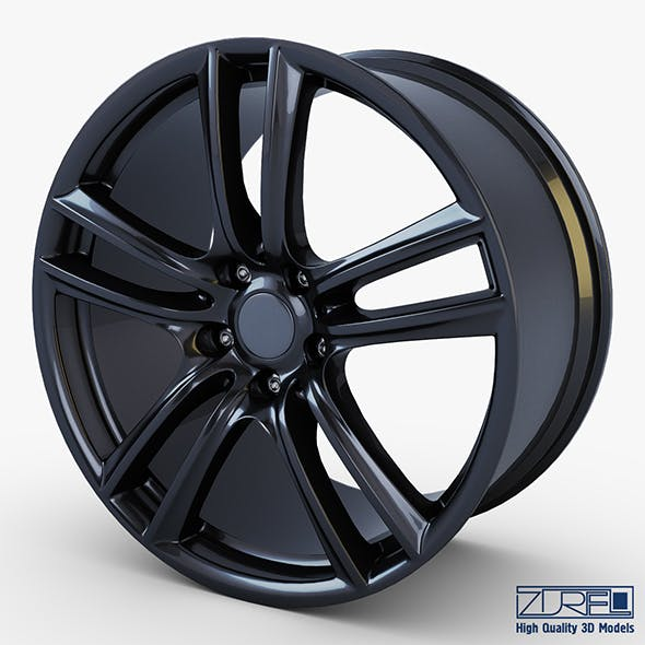 Style 303 wheel black Mid Poly