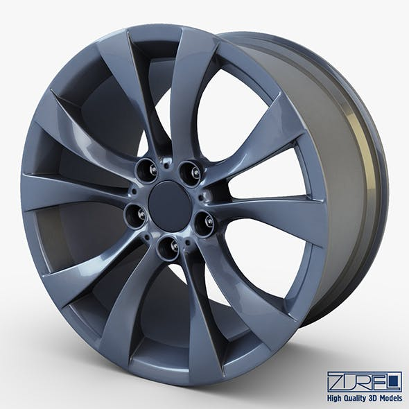 Style 227 wheel ferric gray Mid Poly - 3DOcean Item for Sale