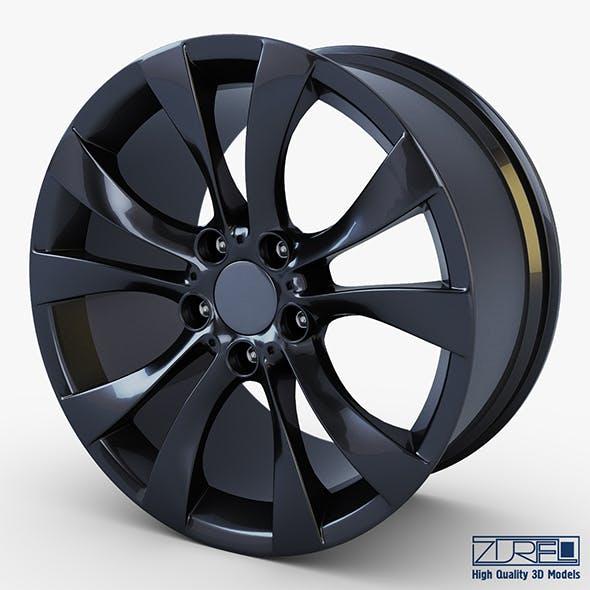 Style 227 wheel black Mid Poly
