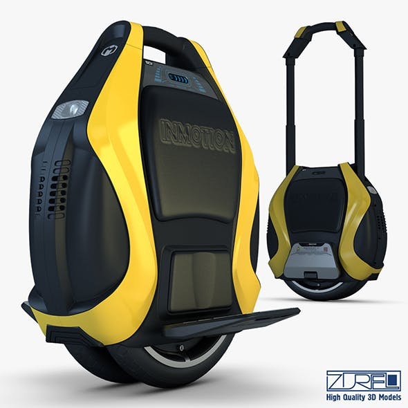 Inmotion V3 Pro yellow - 3DOcean Item for Sale