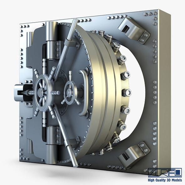 Bank vault door v 1 - 3DOcean Item for Sale