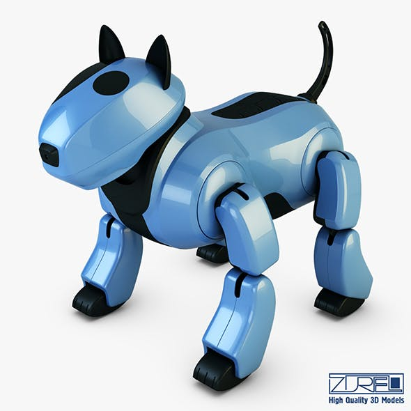 Genibo Robot Dog blue