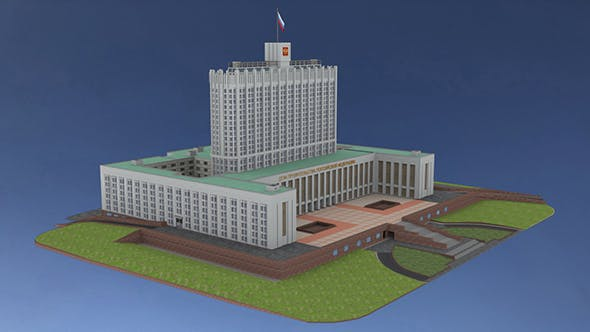 The House of the Government of the Russian Federation - 3DOcean Item for Sale