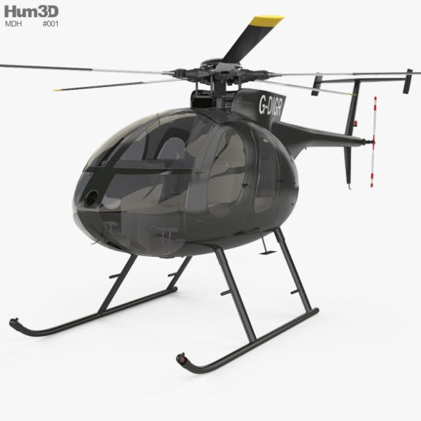 MD Helicopters MD 500 - 3DOcean Item for Sale