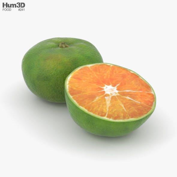 Green Tangerine - 3DOcean Item for Sale