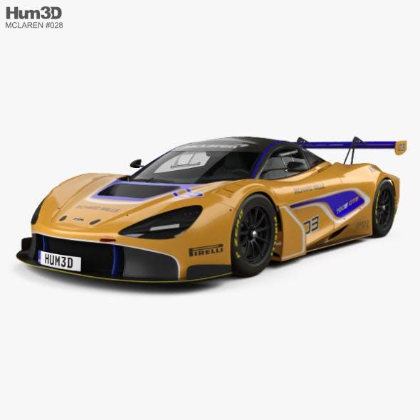 McLaren 720S GT3 2019 - 3DOcean Item for Sale