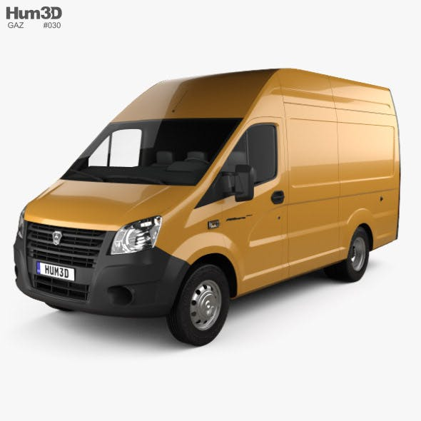 GAZ Gazelle Next Panel Van L1 2018 - 3DOcean Item for Sale