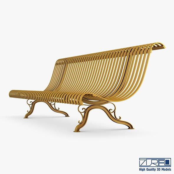 Bench v 1 - 3DOcean Item for Sale