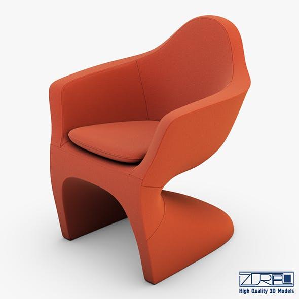 Lotem chair bittersweet - 3DOcean Item for Sale