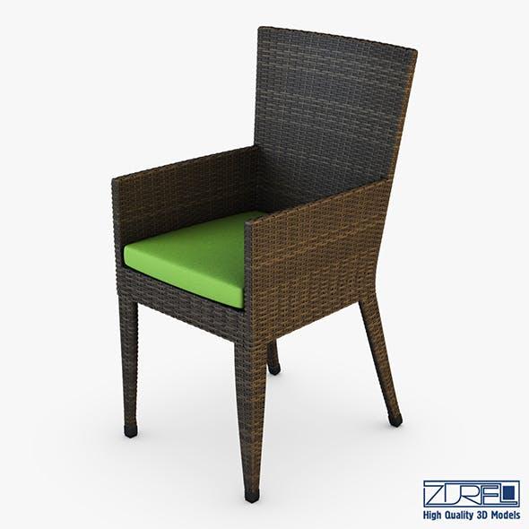 Rexus chair brown v 2 - 3DOcean Item for Sale