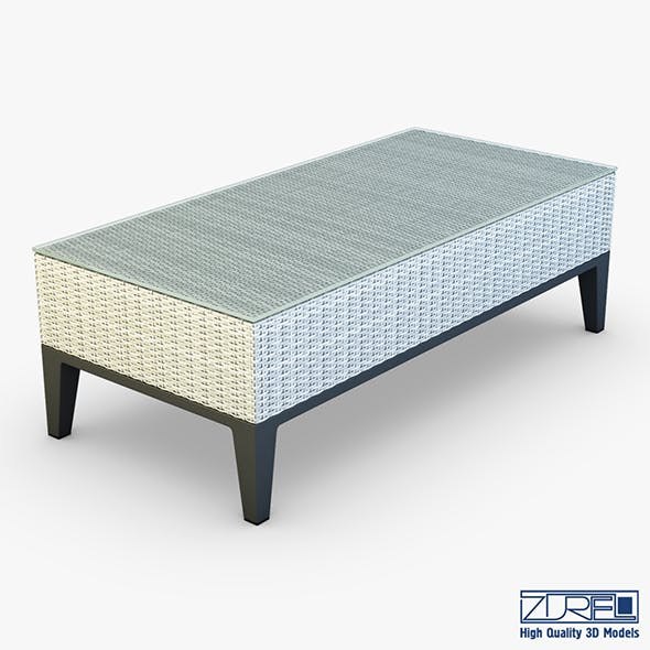 Rexus coffee table white - 3DOcean Item for Sale