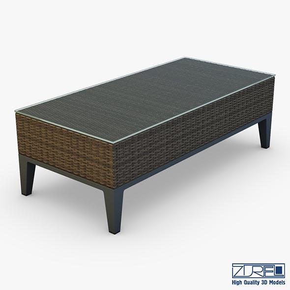 Rexus coffee table brown - 3DOcean Item for Sale