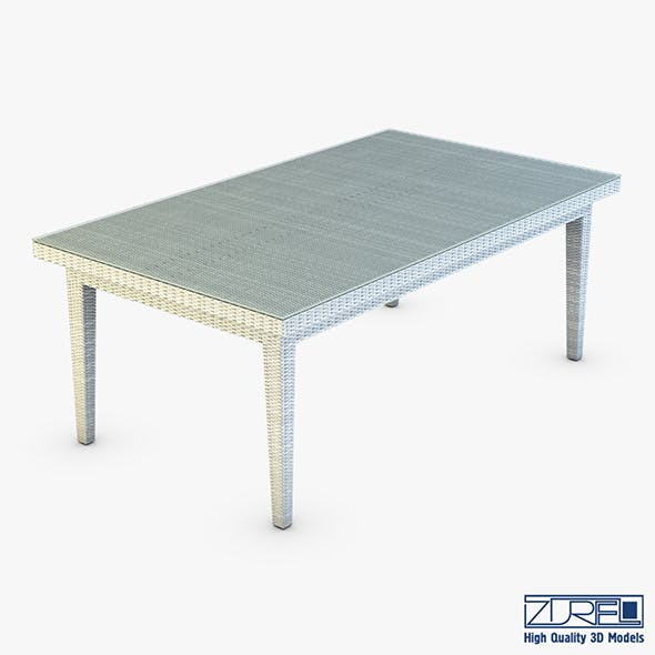 Rexus dining table white