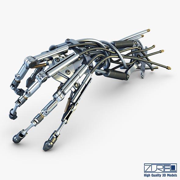 Robotic hand v 2 - 3DOcean Item for Sale