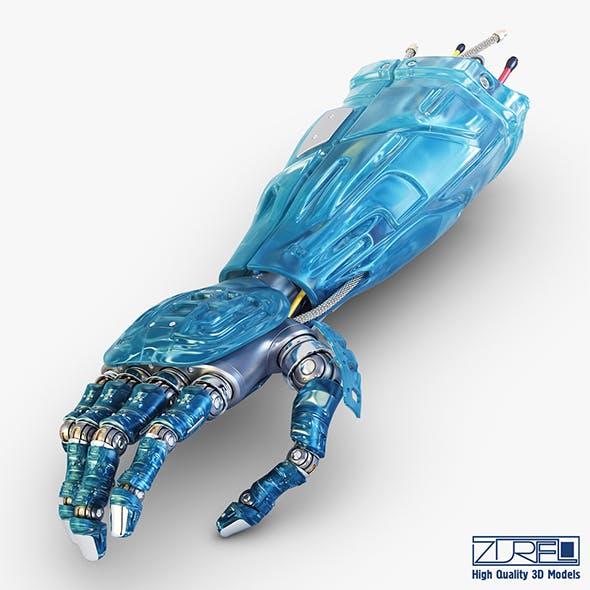 Bio robotic hand v 1 - 3DOcean Item for Sale