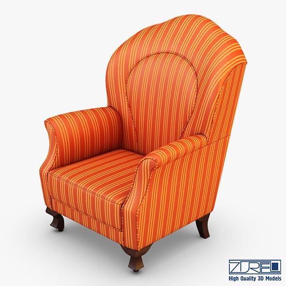 Imperatrice armchair orange