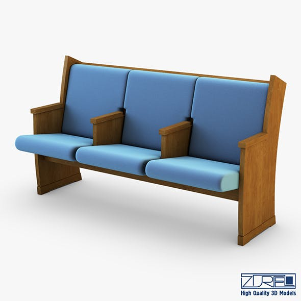Galil chair blue - 3DOcean Item for Sale