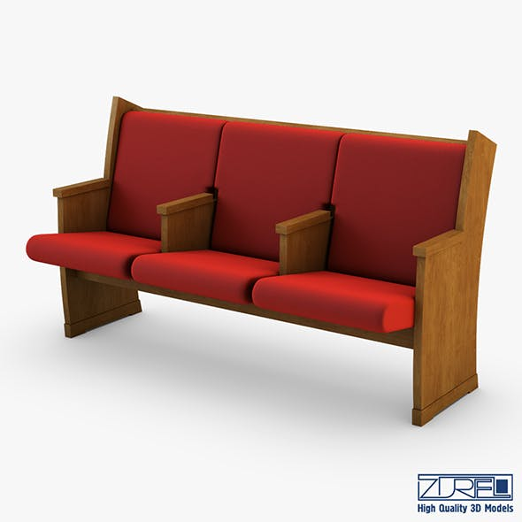 Galil chair red - 3DOcean Item for Sale