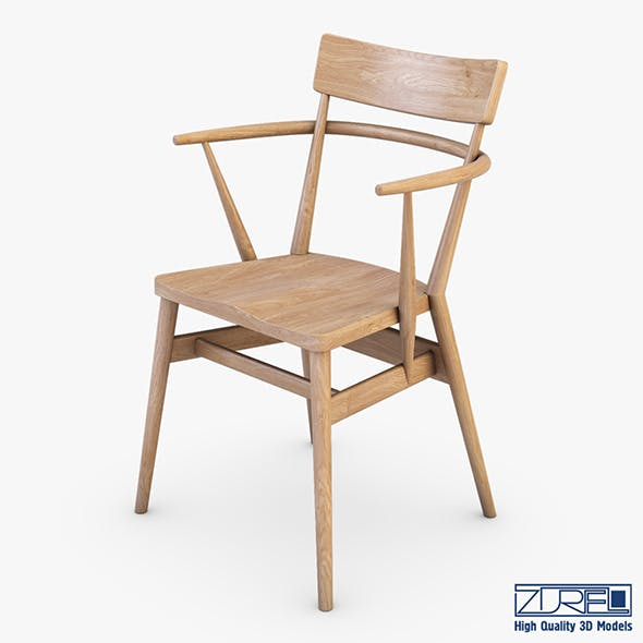 Ercol Holland Park chair v 1 - 3DOcean Item for Sale