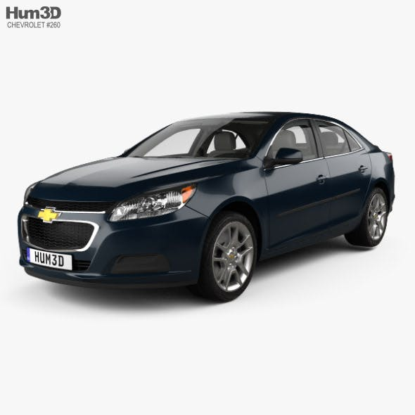 Chevrolet Malibu LT with HQ interior 2014