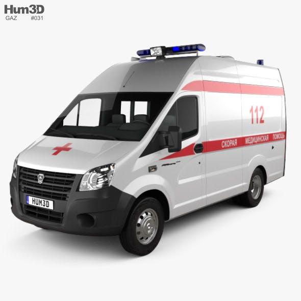 GAZ Gazelle Next Ambulance Luidor 2018 - 3DOcean Item for Sale