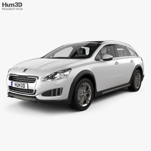 Peugeot 508 RXH with HQ interior 2012 - 3DOcean Item for Sale