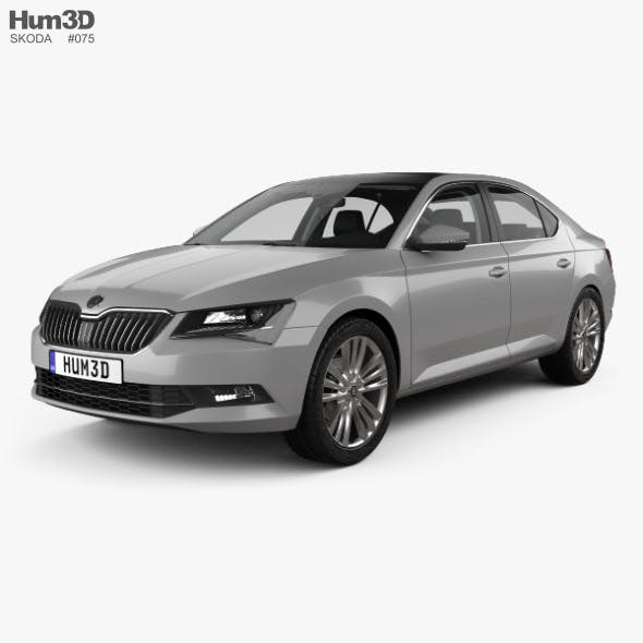 Skoda Superb liftback with HQ interior 2016