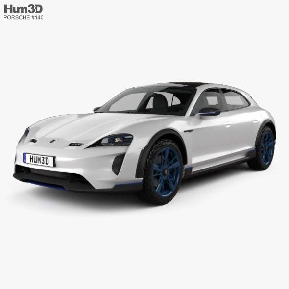 Porsche Mission E Cross Turismo 2018 - 3DOcean Item for Sale