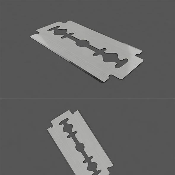 3D Razor Shaving Blade