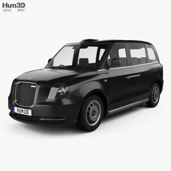 LEVC TX Taxi 2017 - 3DOcean Item for Sale