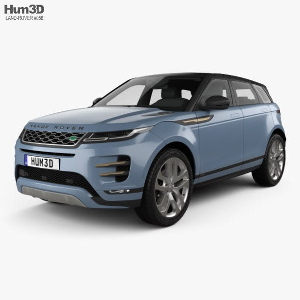 Land Rover Range Rover Evoque R-Dynamic First Edition 2019 - 3DOcean Item for Sale
