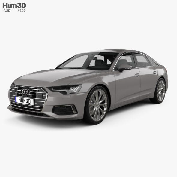 Audi A6 (C8) sedan 2018 - 3DOcean Item for Sale