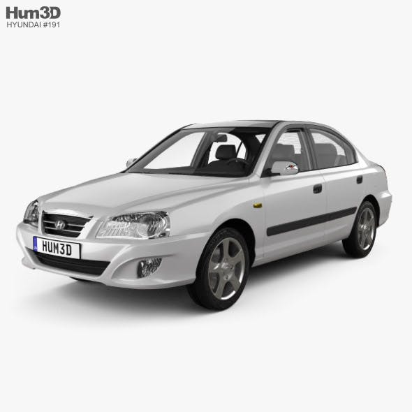 Hyundai Elantra (XD) CN-spec with HQ interior 2010 - 3DOcean Item for Sale