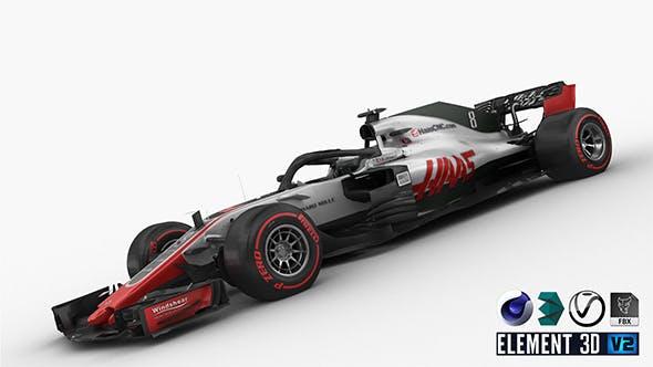 F1 Haas VF-18 2018 - 3DOcean Item for Sale