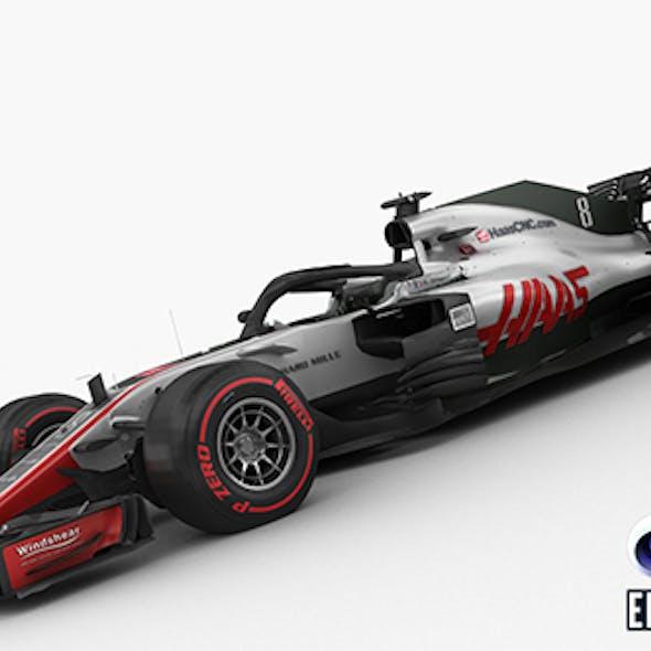 F1 Haas VF-18 2018