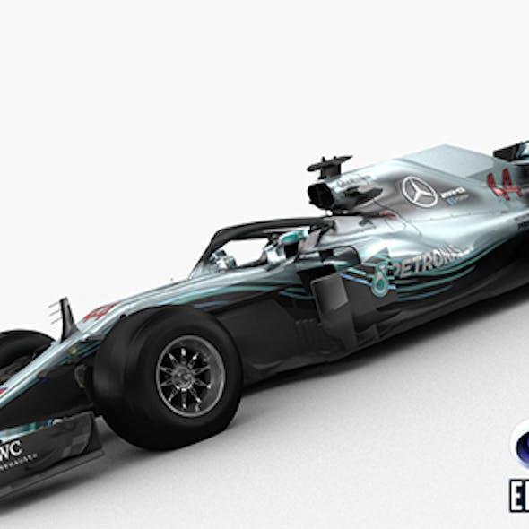 F1 Mercedes W09 2018