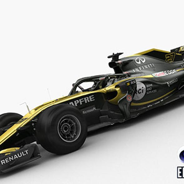 F1 Renault R.S 18 2018