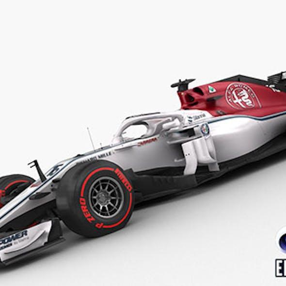 F1 Sauber C37 2018