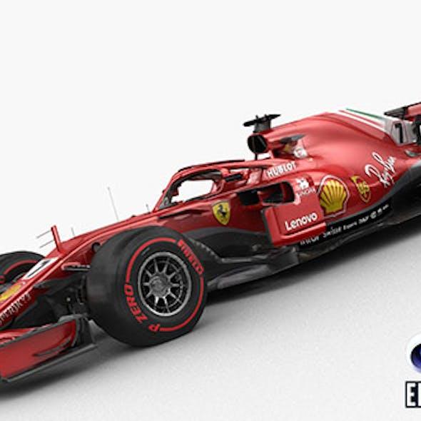 F1 Scuderia Ferrari SF71H 2018