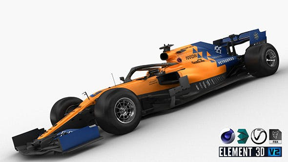 F1 McLaren MCL34 - 3DOcean Item for Sale